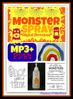 photo of: &quot;Monster Spray&quot; Digital Download Mp3 + Pdf's from Debbie Clement