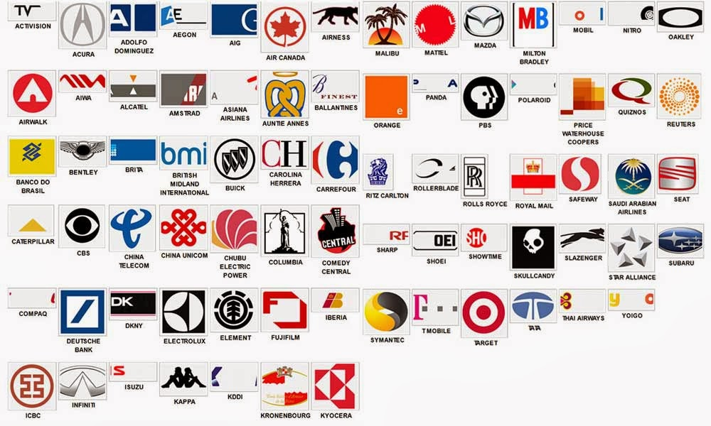 Guess The Logo, Logo Brand Games, Quizzes, Puzzles