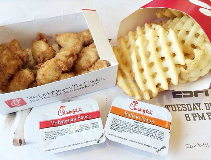 chick-fil-a nugget meal