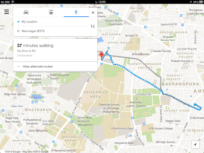 View Google Maps For iPad 2