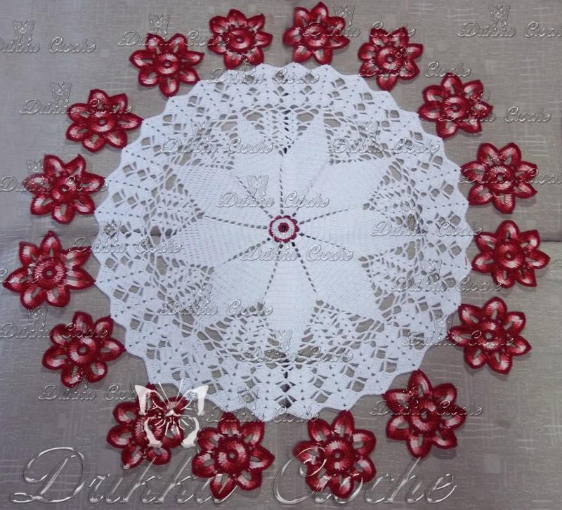 Drikka Croche: Toalha de mesa Croche