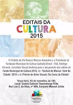 Editais de Cultura 2015