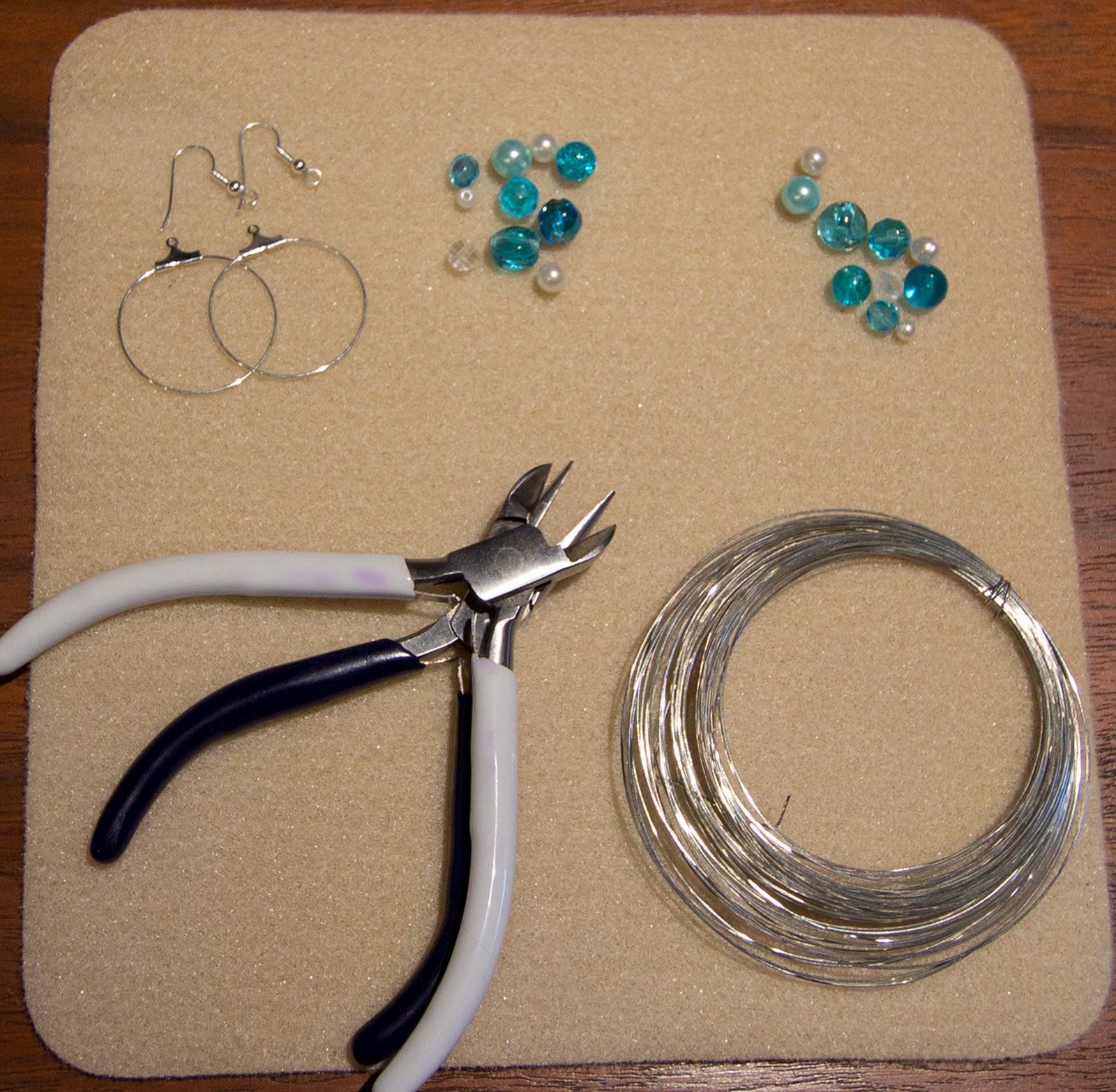 Как сделать свои сережки 670