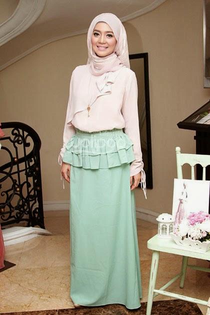 Kreasi Hijab Pashmina Simple dan Modern Untuk Pesta