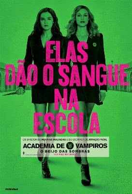 Download Academia de Vampiros : O Beijo das Sombras BDRip Dublado