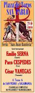 Paco Céspedes y Cesar Vanegas, anunciados en San Pablo, 24/06.