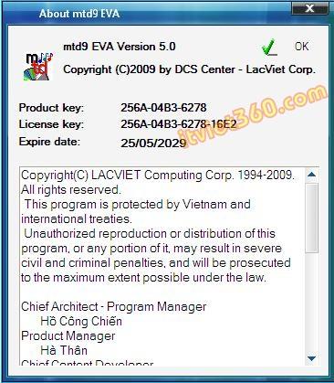 Download Từ điển Lạc Việt 2012 Full key Crack tới năm 2029