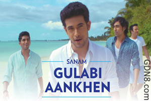 Gulabi Aankhen Lyrics By SANAM PURI