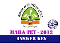 Maharashtra MAHA TET Answer Key 2013 Download