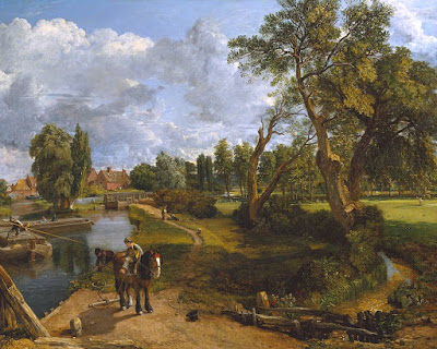 John Constable - Flatford Mill ('Scene on a Navigable River') 1816-17