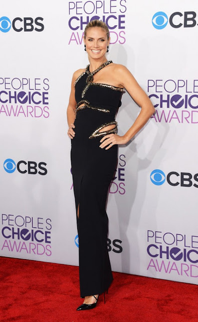 Heidi Klum at The Peoples Choice Awards 2013