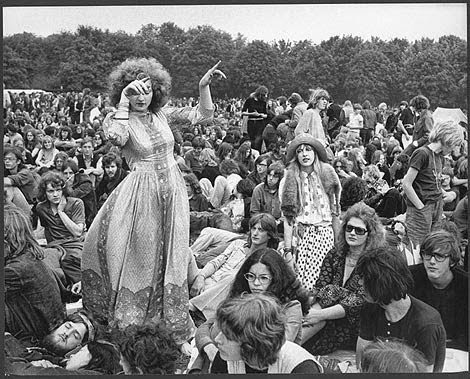 Dance like no one's watching.Woodstock1969
