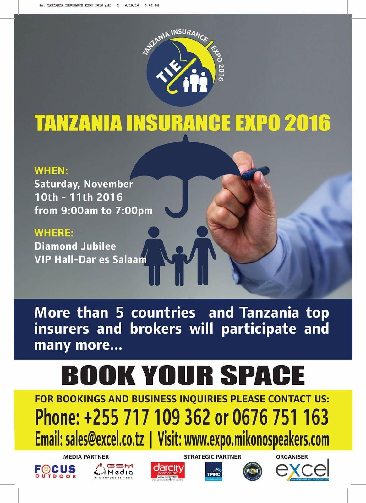TANZANIA INSURANCE EXPO 2016