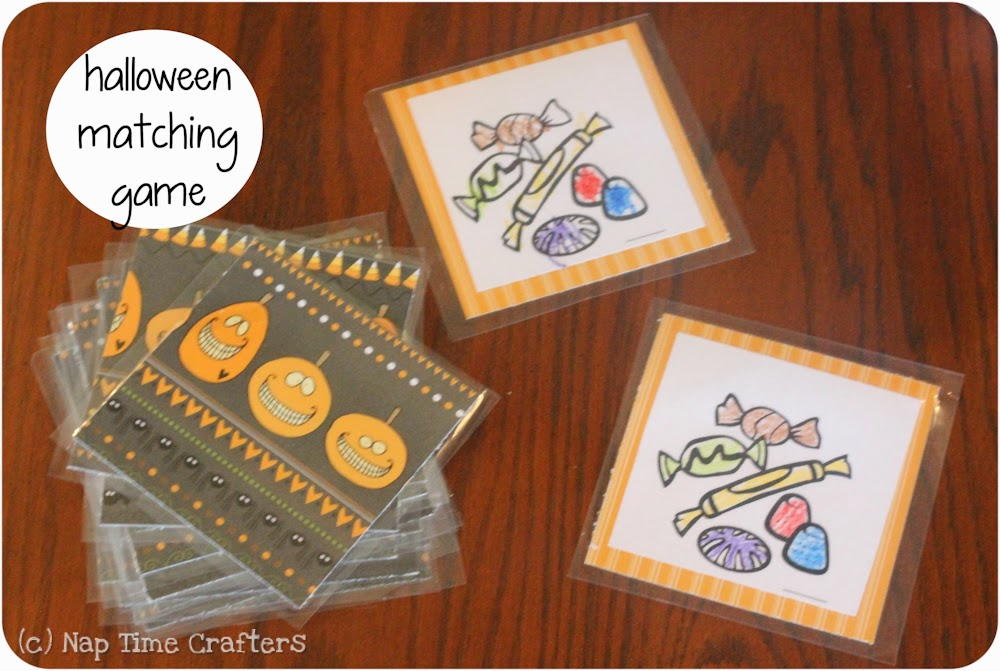 graphic regarding Make Your Own Matching Game Printable titled Halloween Matching Sport with Free of charge Printable - Peek-a-Boo