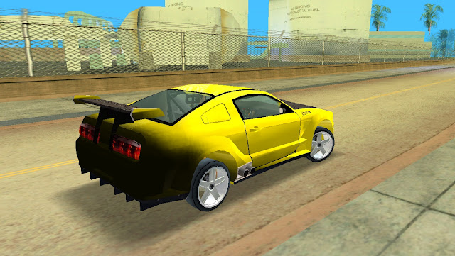 Ford Mustang Concept 2005 GTA Vice City