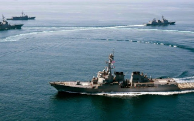 US Patrol South China Sea