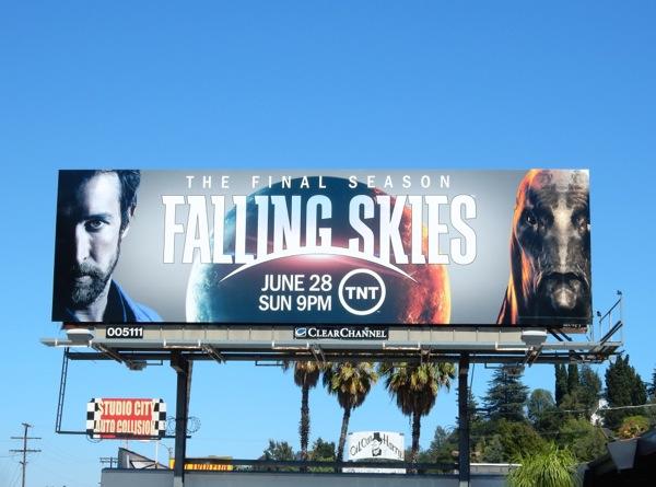 Falling Skies final season 5 billboard