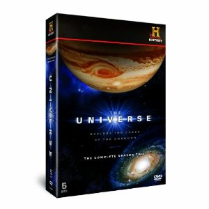 The Universe Season 2 Set of Universe DVDs