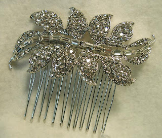 hair combs wedding diy