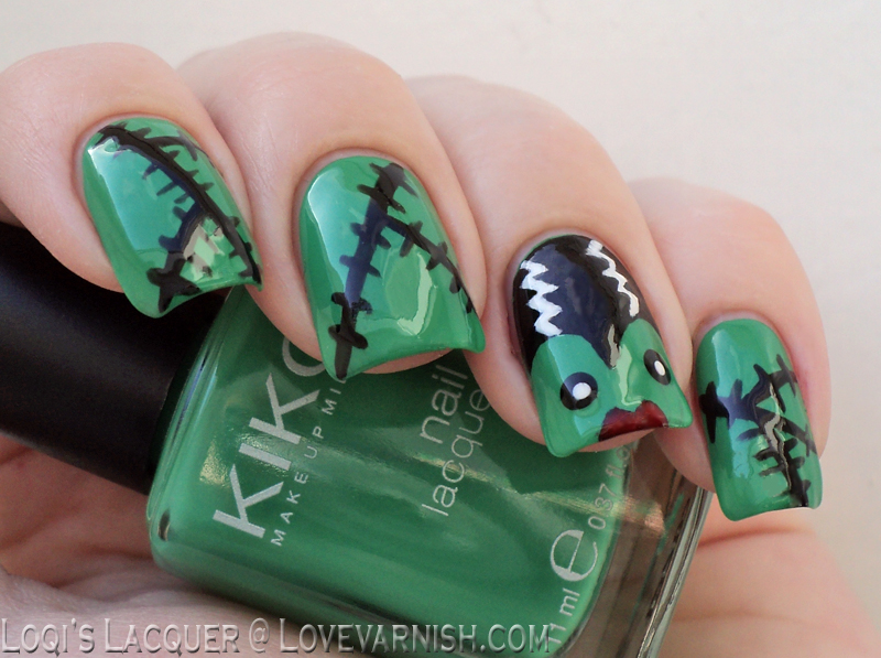 Love Varnish: 31 Day Nail Art Challenge - Inspired By The Supernatural!