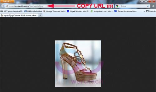 Cara Upload Gambar Pada Postingan Di MyWapblog