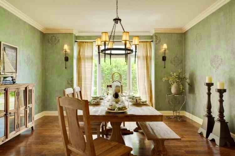 Modern Dining Room Wall Decor Ideas, Large Poster And Photo Frames