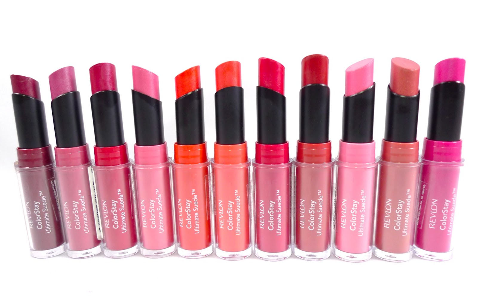 Review: Revlon Colorstay Ultimate Suede Lipsticks+Swatches | The ...
