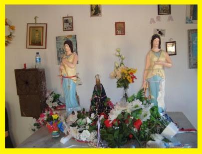 Altar da Capela das Covinhas - Juremal