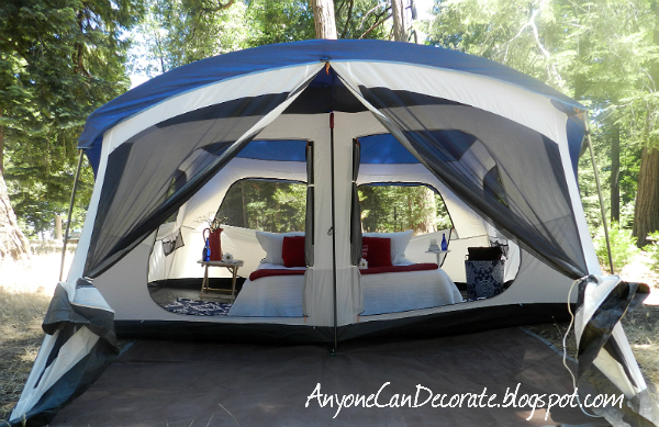 The weather was perfect and the view from our windows was stunning! & Anyone Can Decorate: A GLAMPING We Will Go... GLAMPING u003d Glamorous ...