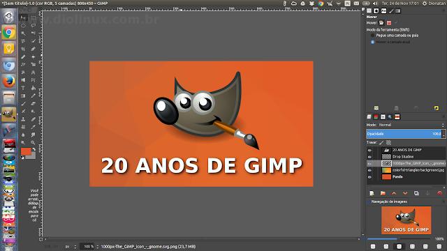 GIMP 20 ANOS