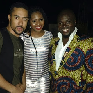 First Photos from Osas Ighodaro's Birthday.