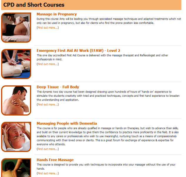 reputable provider of natural and holistic therapy courses in the UK