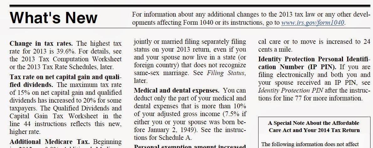 2013 Irs Form 1040 Instructions K Kub 2018