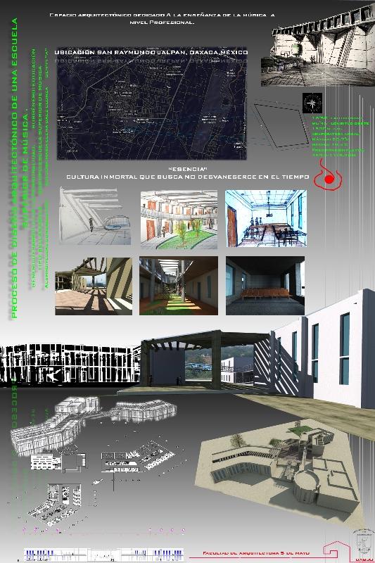 Proceso de dise o arquitect nico de una escuela superior for Proyecto arquitectonico pdf