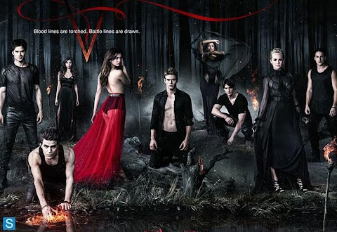 "The Vampire Diaries  ""temporada 5"": Primer póster oficial"