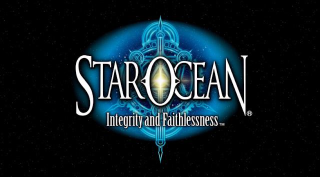 Star Ocean: Integrity and Faithlessness title logo screen art