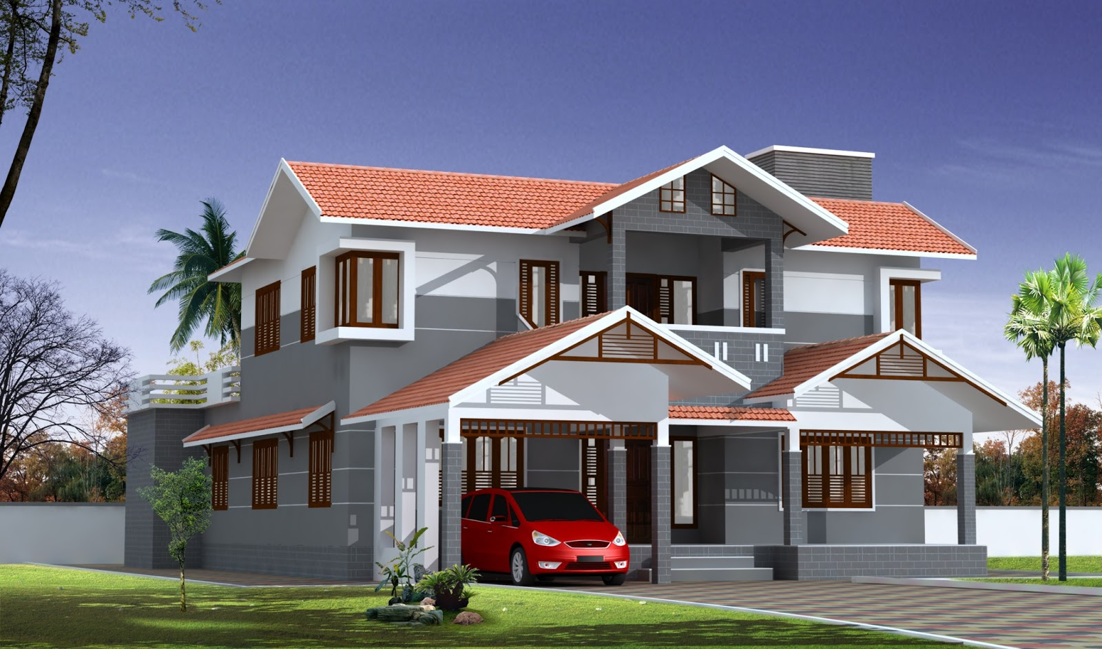 Build a building latest home designs for New build house designs