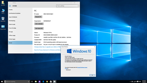 Download Windows 10 Professional (32-Bits)