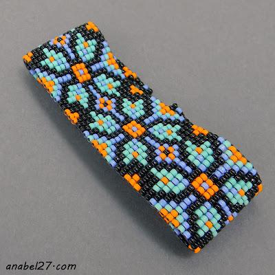 купить этнический браслет из бисера интернет магазин украина