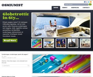 Osmiumist WordPress Theme
