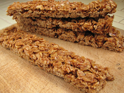 Homemade Granola Bars--Makes 45 granola bars! Wow! :-) I love how cost-effective this is!