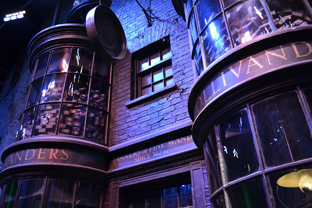 A picture of Ollivanders Harry Potter Studio Tour
