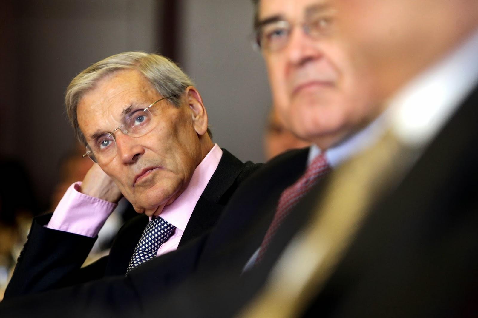 Fotografia de Belmiro de Azevedo, chairman da SONAE