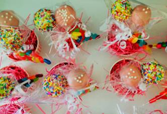 Purim Cake Pops