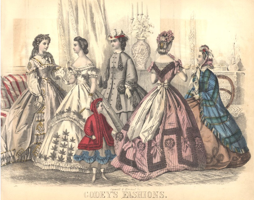 civil war era clothing civil war era fashion plate