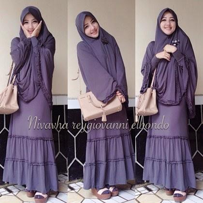 Gamis ala nivavha r elbondo info hijab terbaru dan Baju gamis versi 2015