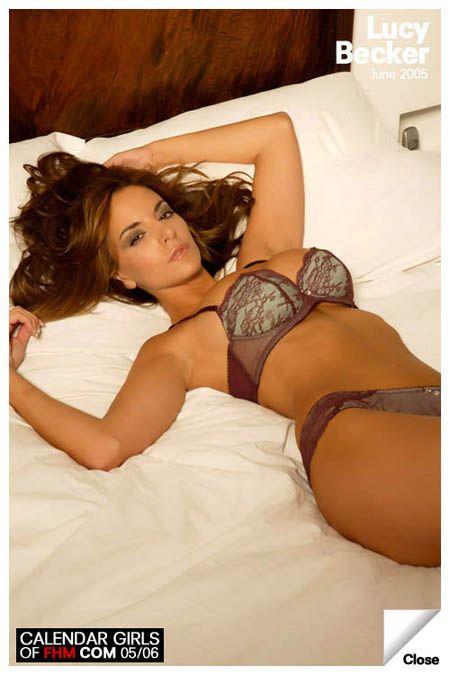 Model  Lucy Becker