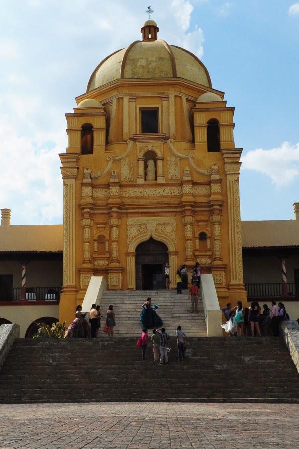 Museu del Obispado. Um lugar histórico e de grande beleza aquitetônica em Monterrey.