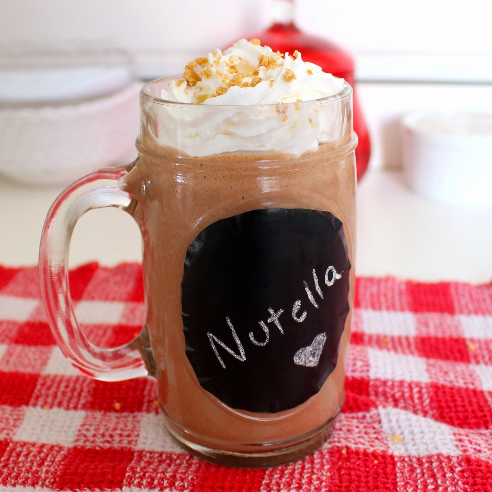 milkshake de nutella