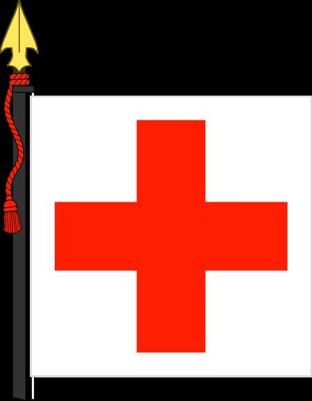 Dibujo HERLDICO Cruz Roja